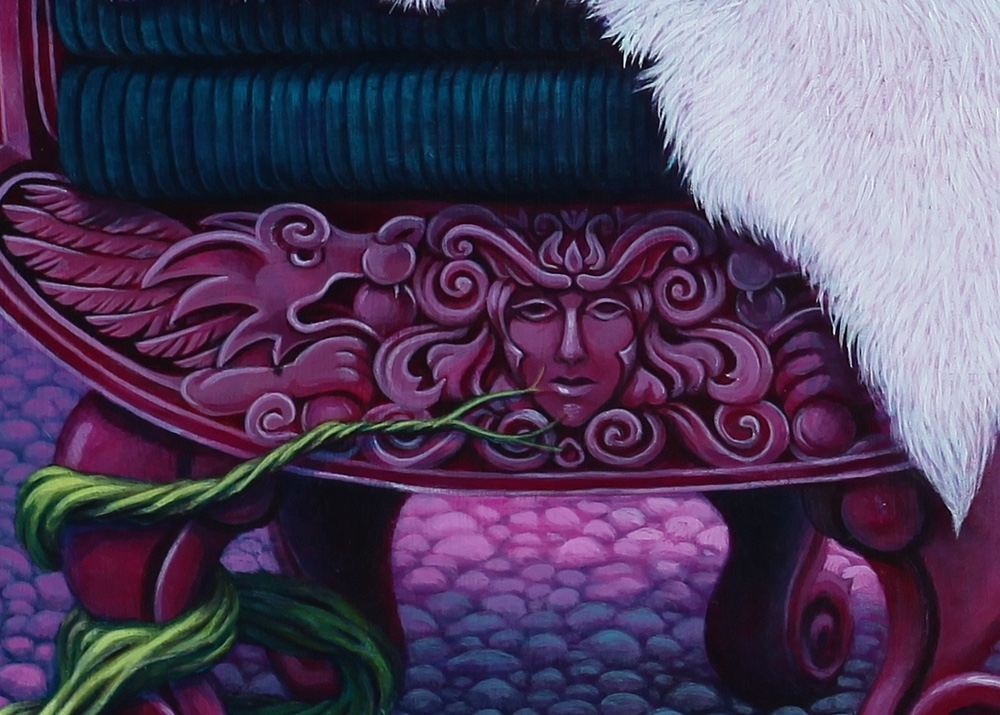 Detail of chair.