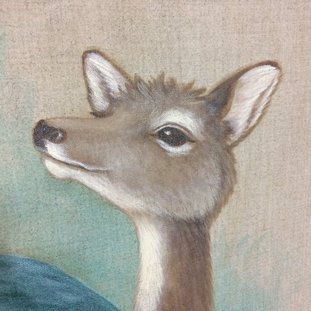 Detail of deer