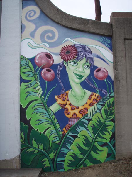 Garden Station Mural • Dayton, OH • Wayne & 4th Street