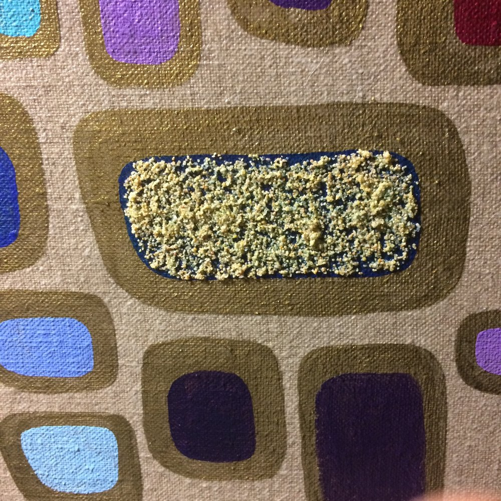 Adding Sand Texture.