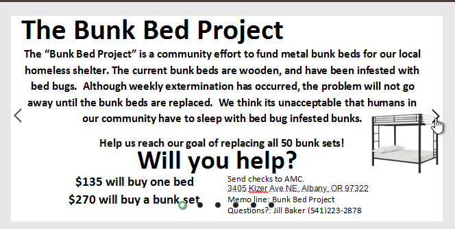 Click to go to Bunk Bed Project