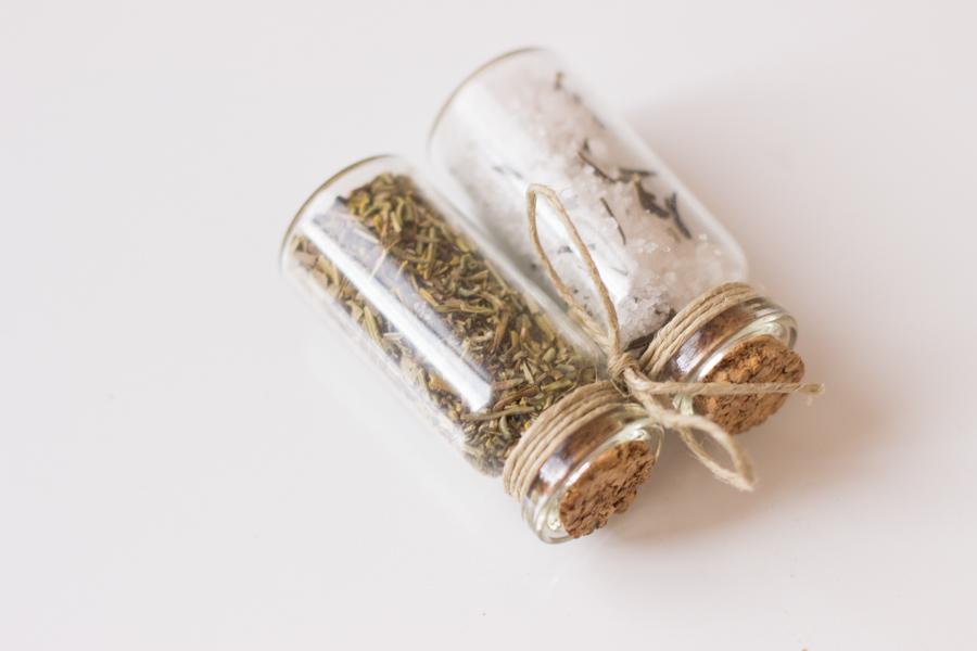 A treat from overseas. Herbs de Provence and Fleur de sel.