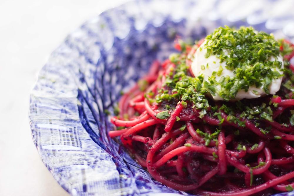 Beet Spaghetti