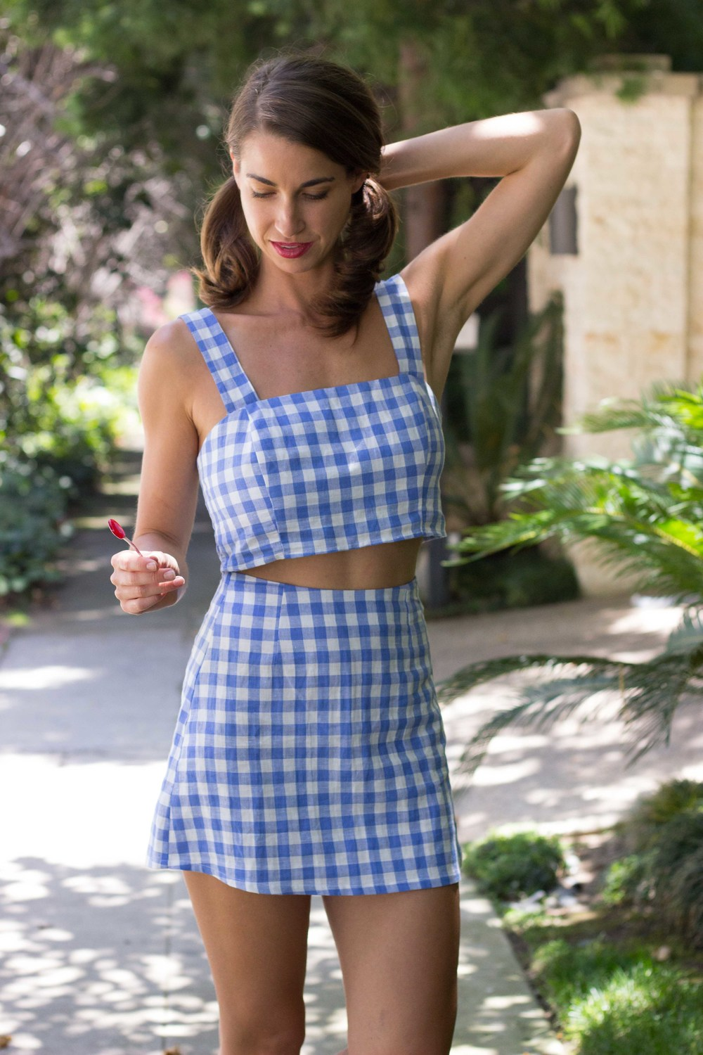 Gingham Two Piece is Reformation