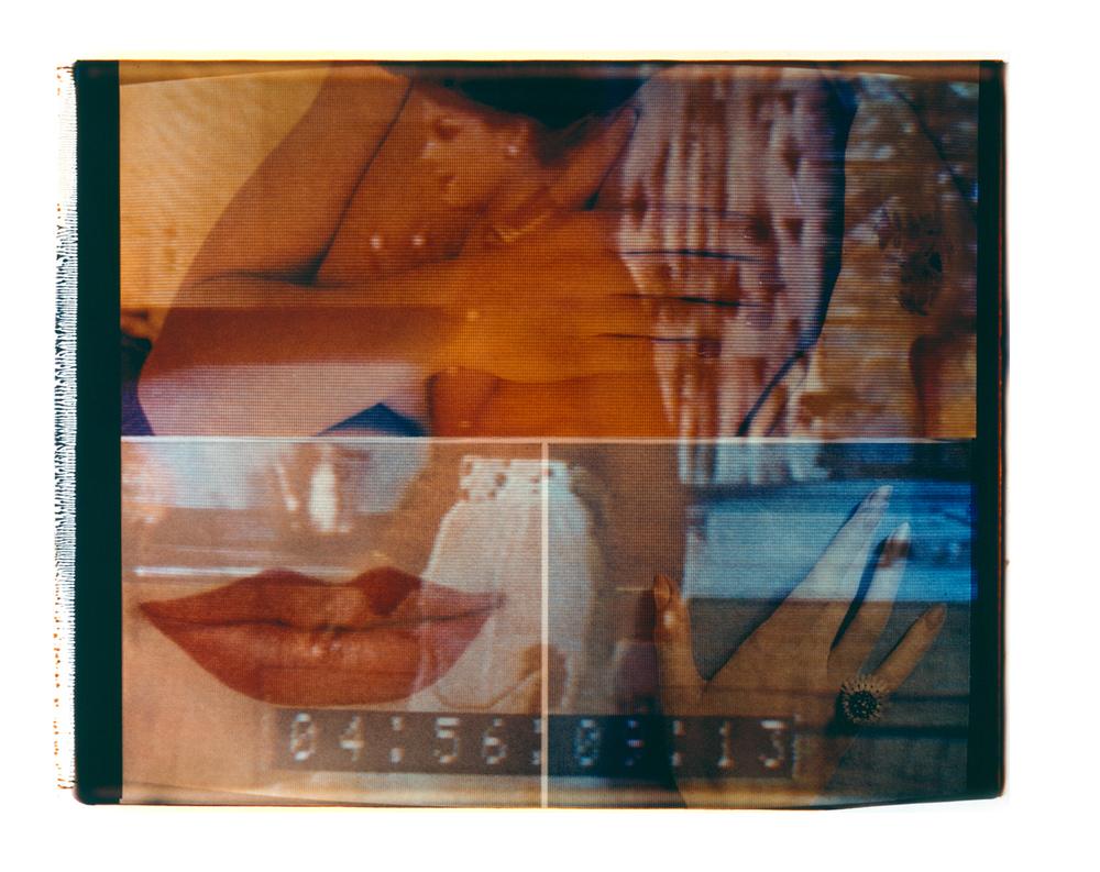 """Contempt  Polaroid 20""""X24"""" 1987"""