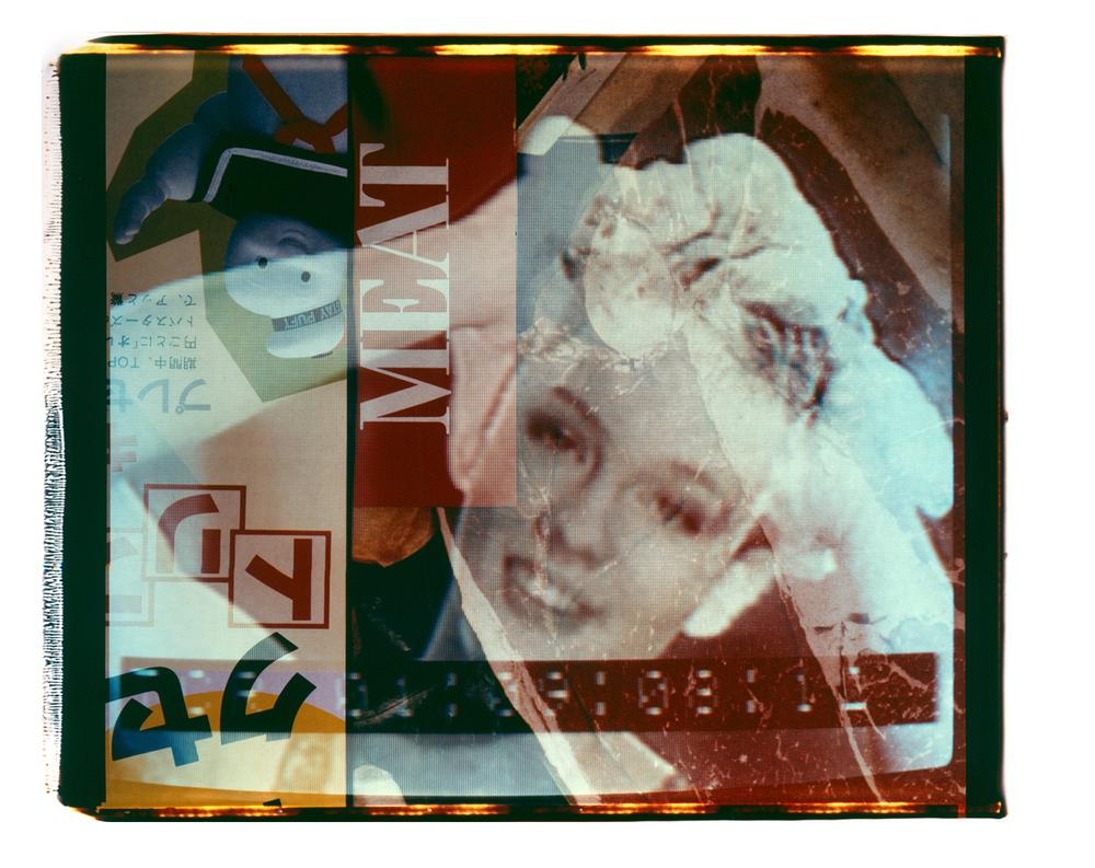 "Meat  Polaroid 20""X24"" 1987"