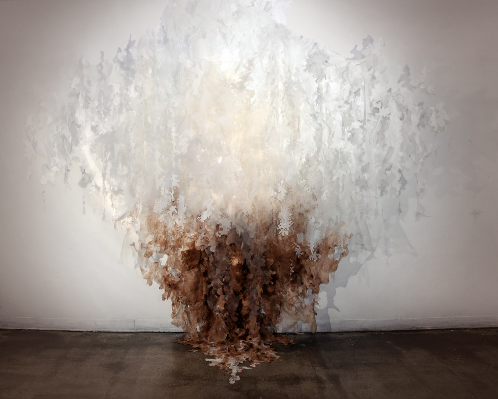 Griselle Gaudnik Untitled Fiber Installation