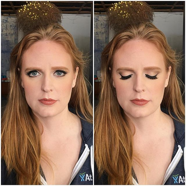 Lana Del Ray/Adele inspired gala look. @rcmamakeup skin, @thebalm_cosmetics brows, @limelightalcone blush, @kevynaucoin highlight and contour, @yournamepro lips, @viseart and @limelightalcone shadows, @inglot_usa liner, @frendsbeauty lashes.