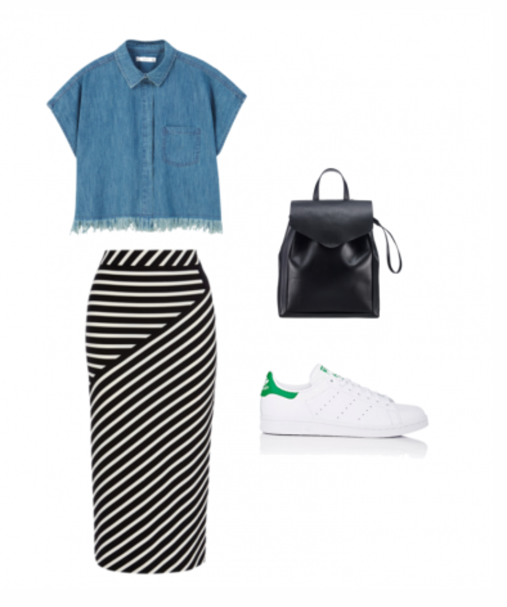 9-5 Chic: 4 Ways To Wear Sneakers To Work  (MadameNoire)