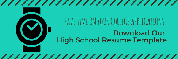 Creating a High School Resume saves time when applying to multiple colleges. It also is useful to give to references for writing recommendations. Using a high school resume can come in handy when applying for scholarships also!