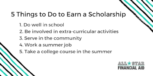 5 Things to Do to Earn a Scholarship