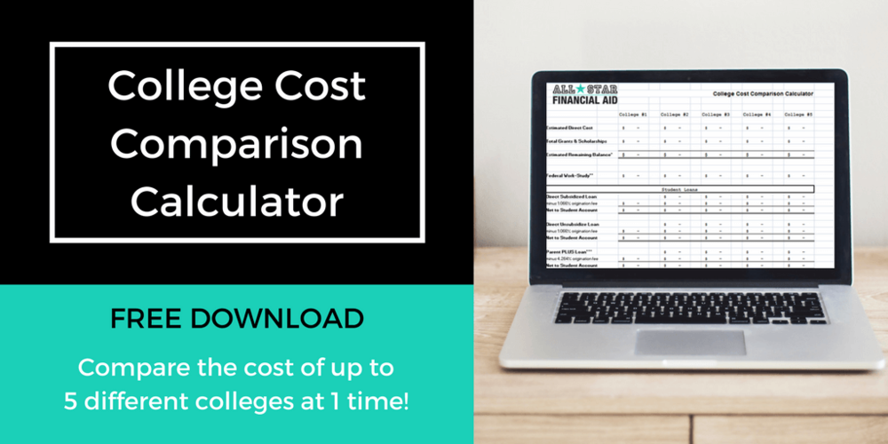 Still deciding on what college to attend? The College Cost Comparison Calculator can help you and your student narrow down the college choices. Comparing college cost will allow you and your child to …  *  Eliminate any college the family is unable to afford *Determine if more aid can be received from another college *Establish what will need to be paid out of pocket *Decide on a financial plan to pay for college *Make a sound financial decision  Free Download - College Cost Comparison Calculator