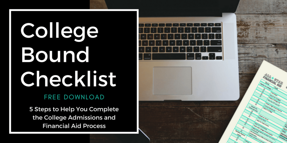Feeling Overwhelmed, Stressed, Don't know where to begin? Making a list always helps. Download our FREE College Bound Checklist. In this checklist you will get the exact 5 steps we use when assisting our clients through the college admissions and financial aid process. The College Bound Checklist takes you step-by-step through the entire process. This list is also full of links to great resources. Download it for FREE today! Link in bio!