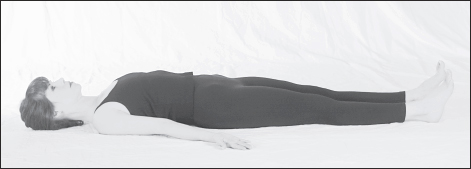 Supta Tadasana (Supine Mountain pose)