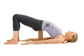 Supported Bridge (Setu Bandha Sarvangasana)