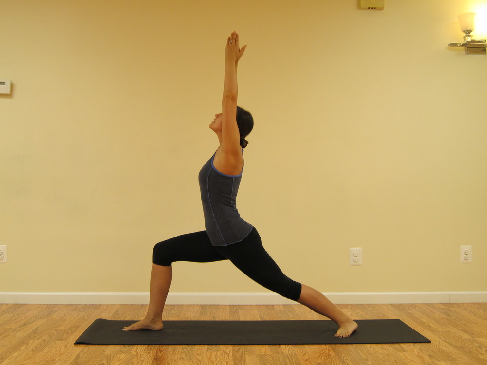 Virabhadrasana 1, Warrior 1