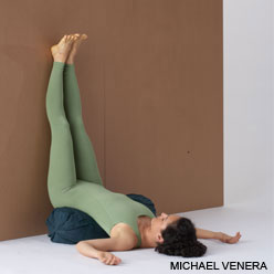 Viparita Karani, legs up the wall pose