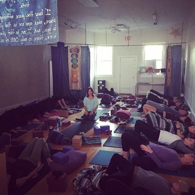 Restorative Yoga Hot Stones At West Asheville Yoga Asheville Nc