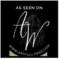 Michelle Lynn Weddings featured on Artfully Wed