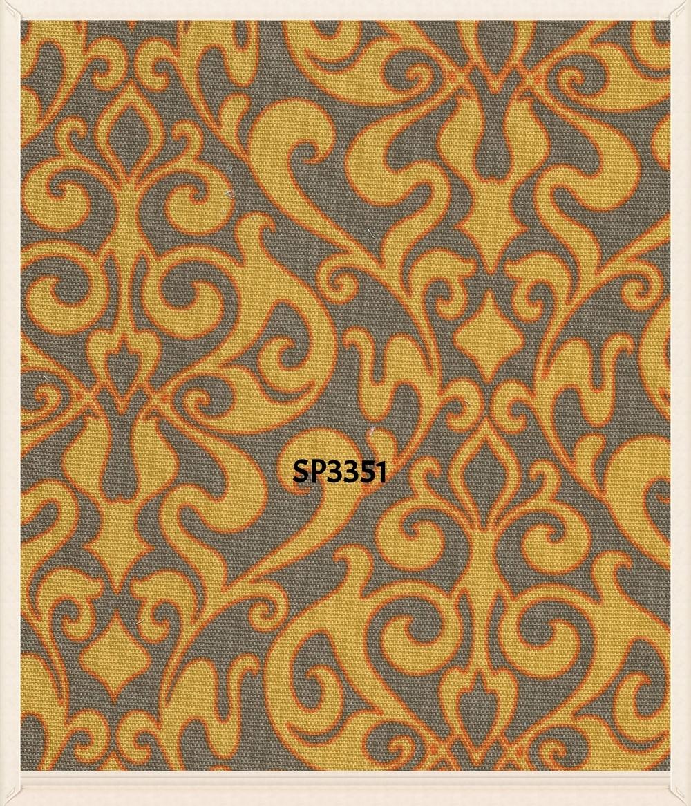 Spun polyester