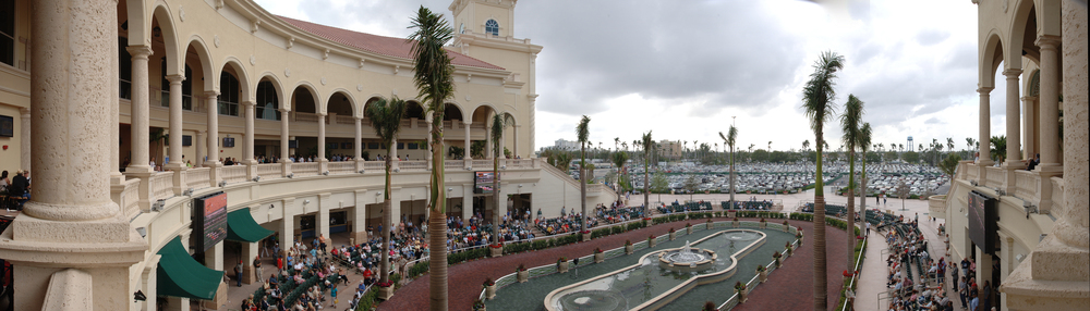 GULFSTREAM PARK TURF CLUB, HALLANDALE FLORIDA - completed 2008 - with McCasey Group