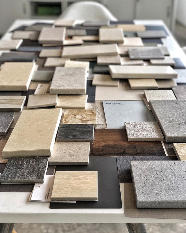 #fridayfun with #materials!!! @formicagroup @caesarstonesea @lamitak @feruni_ceramiche @silestonebycosentino @neolith_usa @niro_granite @dektonbycosentino #exhalegroup #architecture #interiordesign #cabinetry #laminate #countertops #tiles