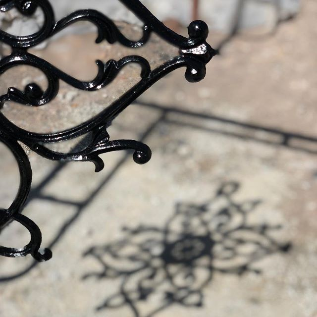 Really happy to see this beautiful #metalwork sample my contractor found!! #exhalegroup #architecture #design #wroughtiron #construction #details #castiron @ecobuildmanagement