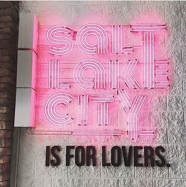 That it is.  Proud to be based out of good old SLC!  Come support you local thrift queens tomorrow @urbanfleamarket