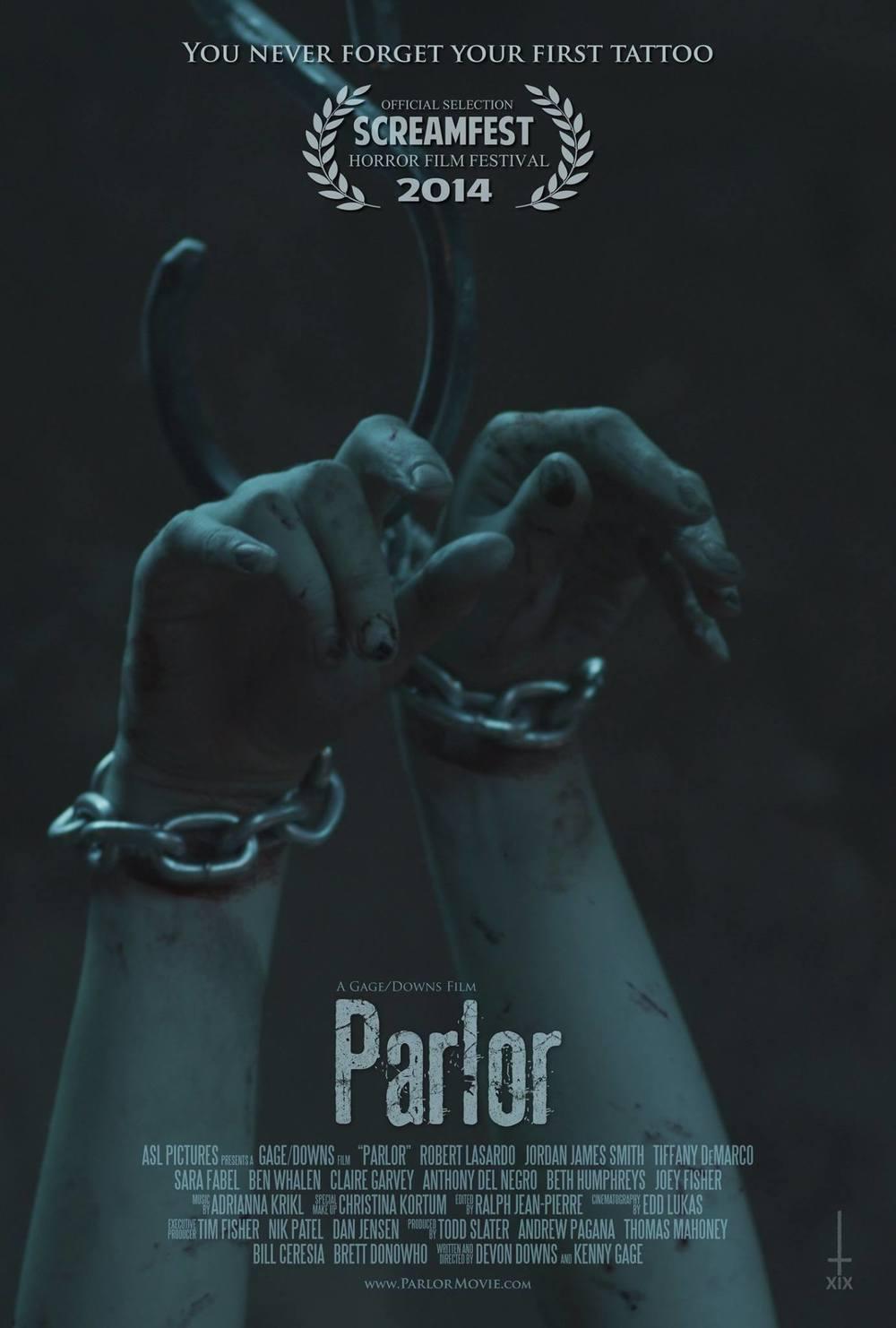 teaser poster for PARLOR.