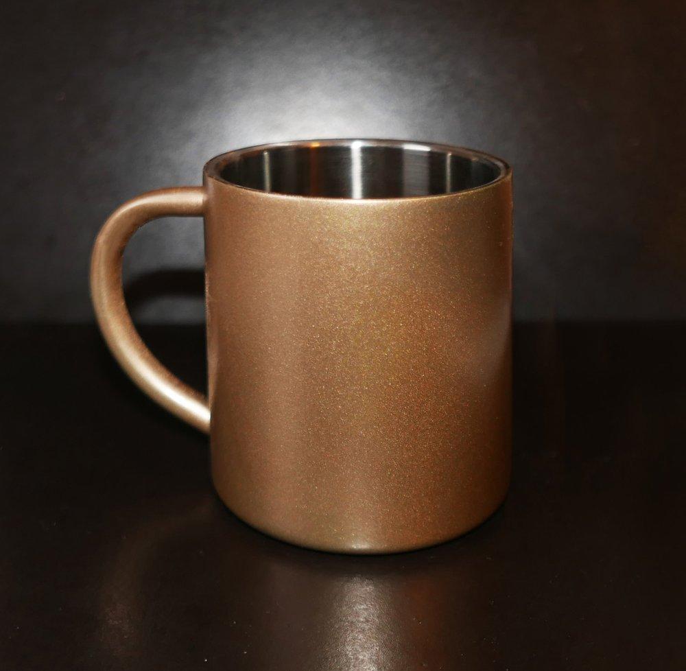 COATED METAL ESPRESSO CUPS