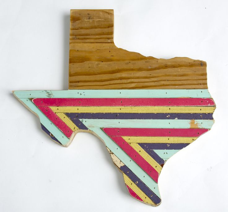 Reclaimed Texas Wall Hangings by Hemlock and Heather