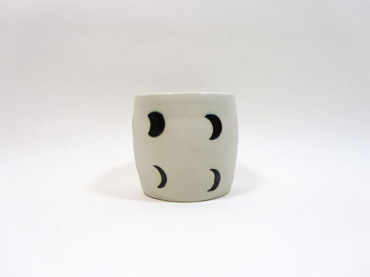 Moon phase ceramics by Small Spells