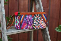 Ixchel Triangle Clutch directly supports Guatemalan Artisans