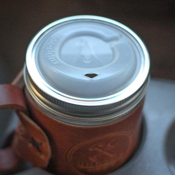 Cuppow Mason Jar Drinking Lid