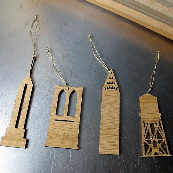 NYC Ornaments by BROOKLYN rehab