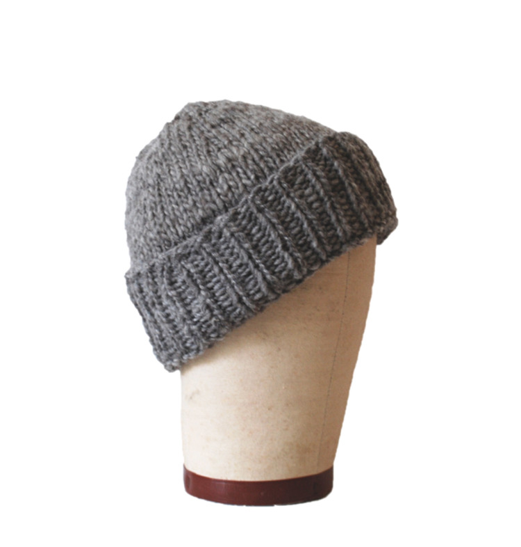 Hand made beanie by Aporta Textiles