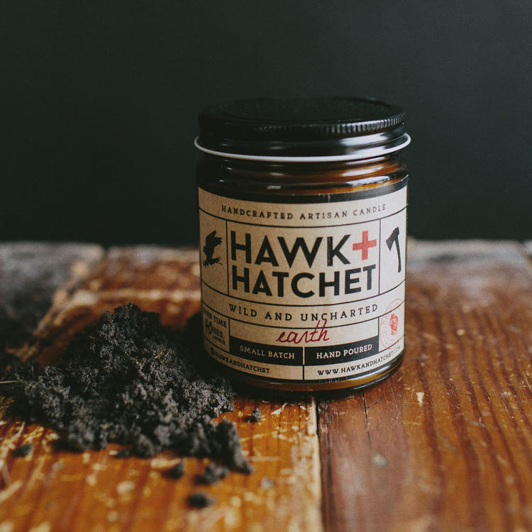 Earth candle by hawk and hatchet