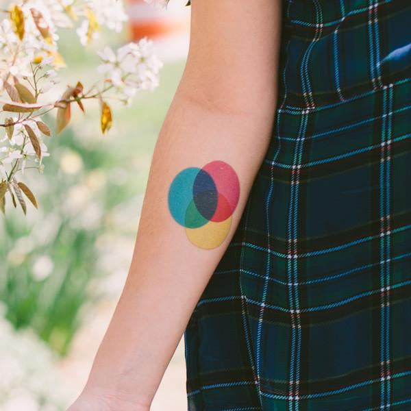 fake tatoo by tattly