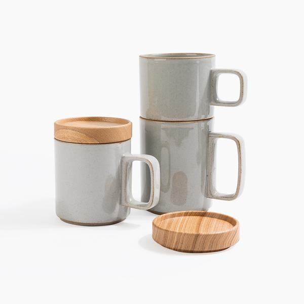hasami porcelain mug from poketo