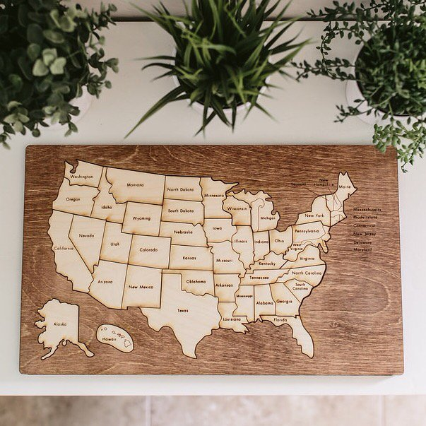 US map by this & that etc.