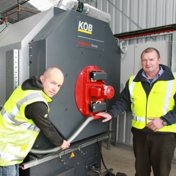 Investment in modern wood boiler technology paid off