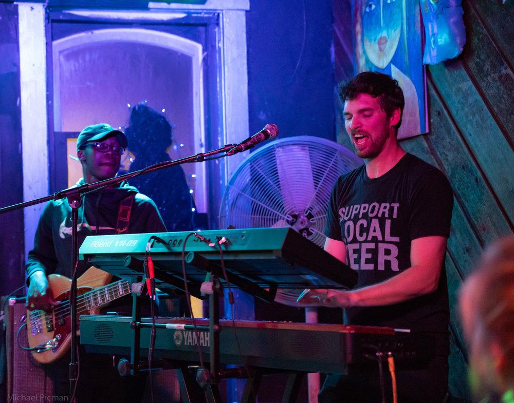 The Jazzhaus (Lawrence, KS), December 2018 - Photo by Michael Picman