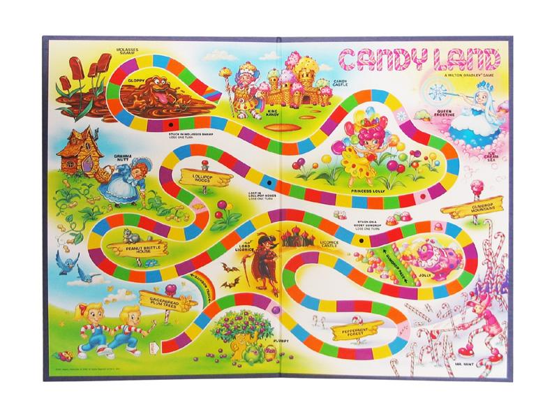 Candyland_Game_Board