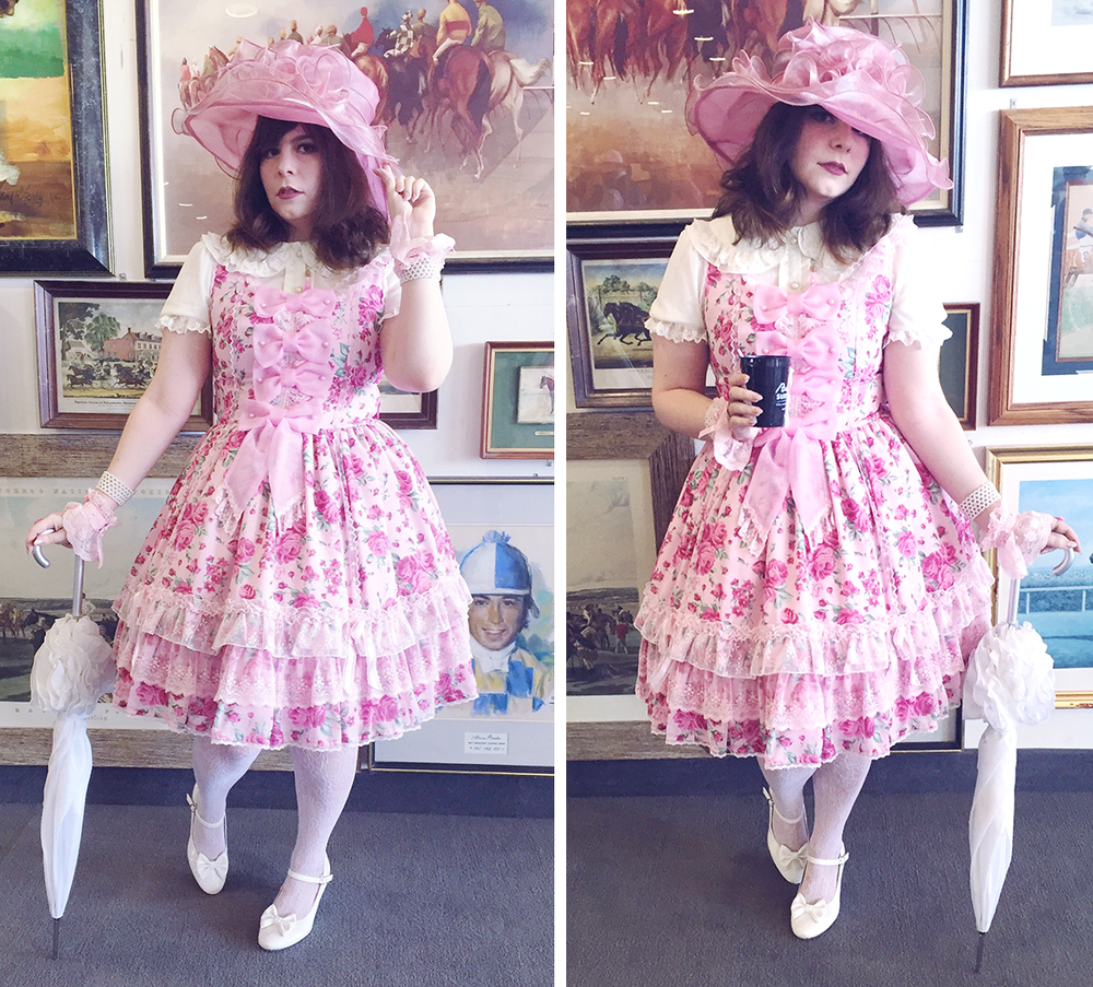 Portland lolita fashion at the Kentucky Derby