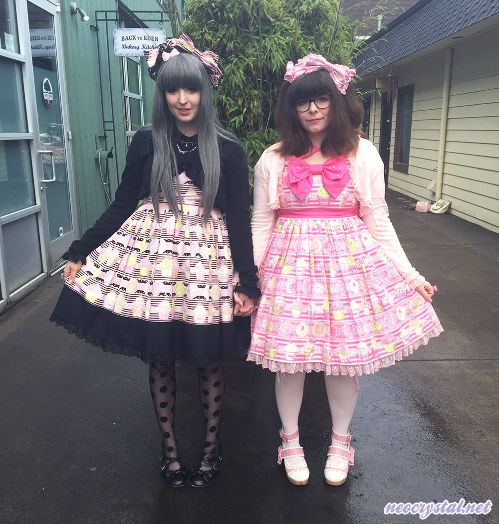 Twinning lolita fashion in Whip Magic