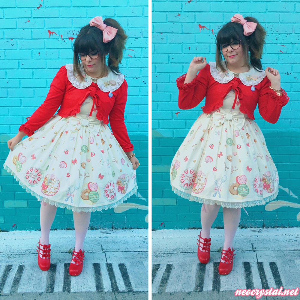 lolita fashion with pastel a la mode by angelic pretty