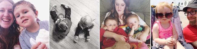 Micah and Ari Cosgrove - the kids