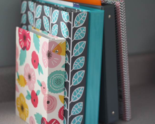 Binders for Paper Organization - 4 Steps to No More Paper Clutter