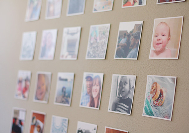 Diy Instagram Memory Wall Laurie Cosgrove Design