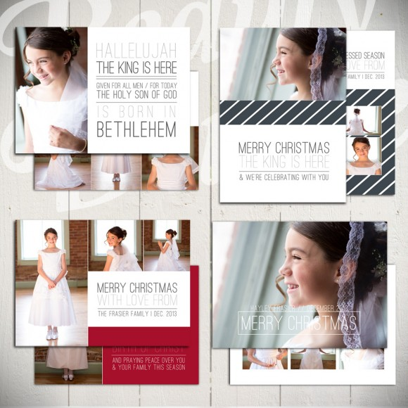 Christmas Card Templates